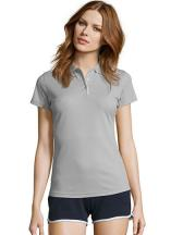 Womens Sports Polo Shirt Performer