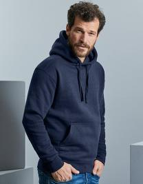 Men`s Authentic Melange Hooded Sweat