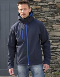 Men`s Core Lite Hooded Soft Shell Jacket