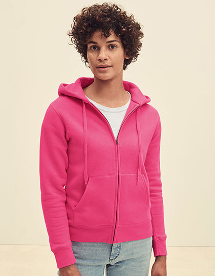 Ladies Premium Hooded Sweat Jacket